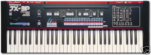ROLAND JX-3P JX3P * OWNERS / INSTRUCTION MANUAL - Comb bound soft cover Booklet