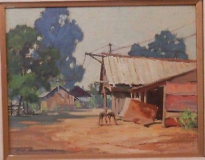 Jack Macartney oil painting