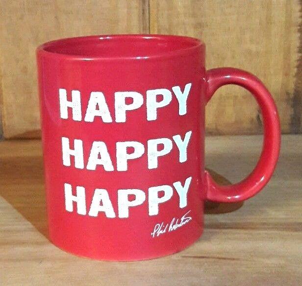 Duck Dynasty Phil Roberston Happy Happy Happy Coffee Mug Red