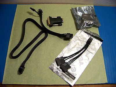 PCI COMPUTER CABLES & ADAPTERS LOT     #1199L