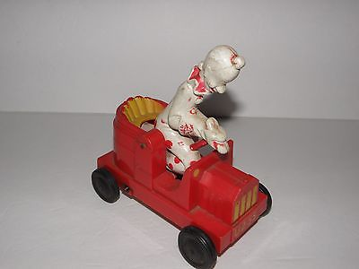 Vintage Mattel Clown Friction Car