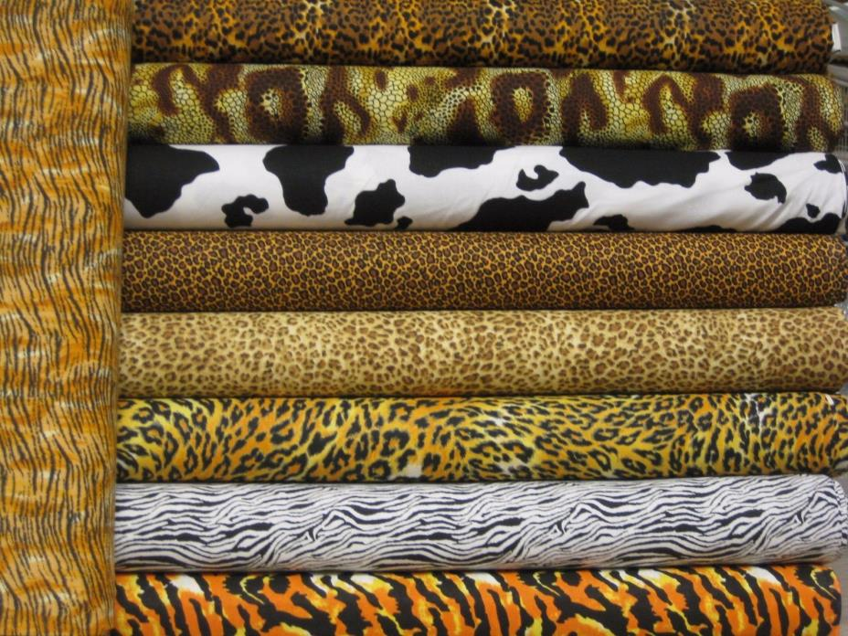 6 Asst Porta Crib baby crib - pack & play sheet Animal Print Custom Day Care sz
