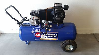 Campbell Hausfeld Extreme Duty 5HP 26Gal Horizontal Air Compressor