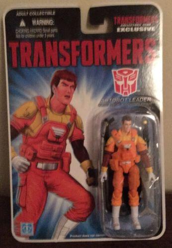 Gi Joe Transformers Exclusive Rodimus Prime Autobot Leader Moc