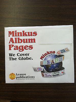 1996 MINKUS Liechtenstein Stamp Album Supplement, NEW!!