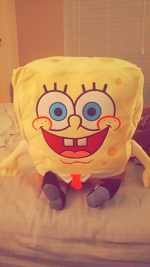 Official Nickelodeon SpongeBob SquarePants Soft Plush Toy, NEW, 20