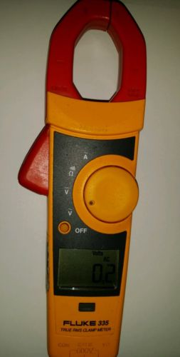Fluke 335 True RMS Clamp Meter Excellent Condition