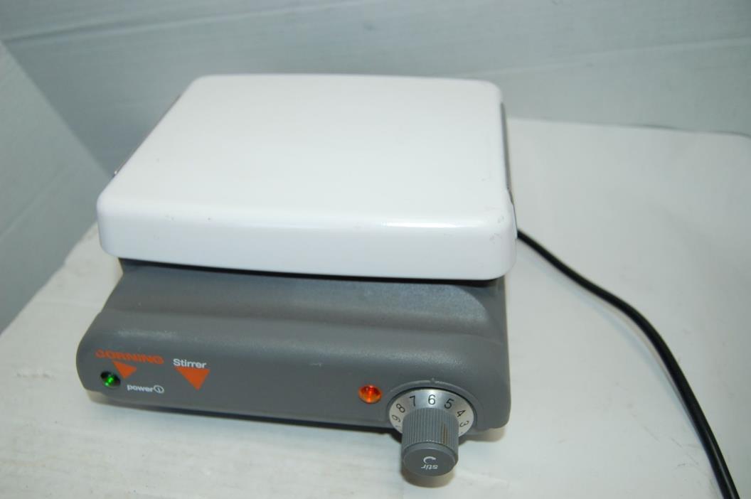 Corning PC-410 magnetic stirrer stirring plate   lab laboratory mixer mix faqs