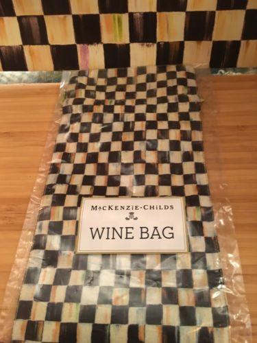 Mackenzie Childs Wine Bag