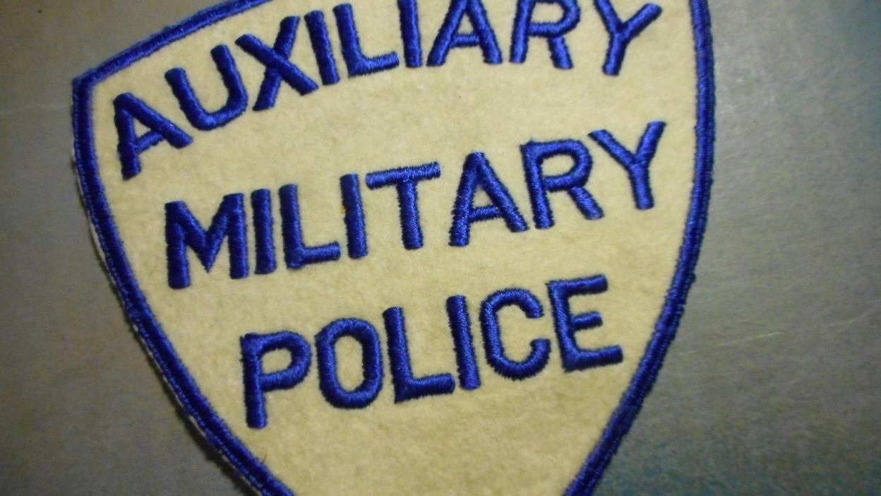 Vintage Auxilary Police Military Patch