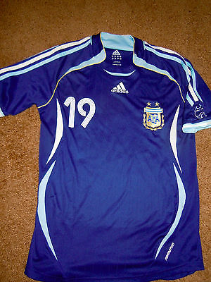 Messi Argentina Player issue Formotion Adidas Jersey