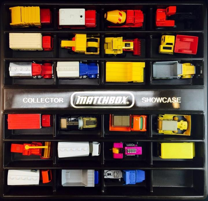 Vintage 70's 80's Hot Wheels & Matchbox 23pc Toy Car Lot - AS-IS