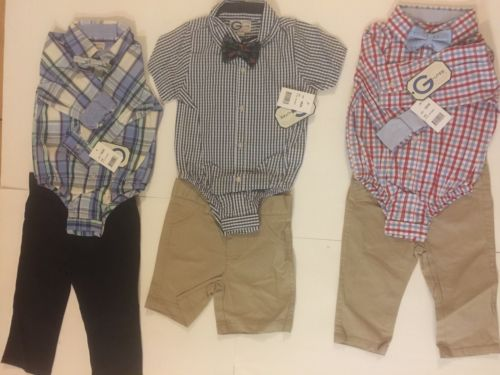 12 set (3pcs) WholeSale Lot New With Tags Toddlers ShirtZie Set All Brand New