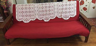 Futon - wooden frame with mattress
