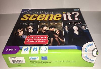 The Twilight Saga (Twilight, New Moon, Eclipse) DVD Trivia Board Game, Scene it?