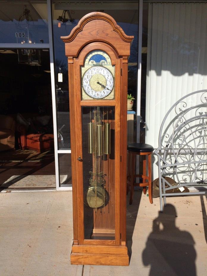 Ridgeway Grandfather Clock at The Raleigh Furniture Gallery
