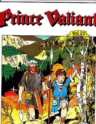 Prince Valiant Vol 22-1994-Strip Reprints Soft Cover-