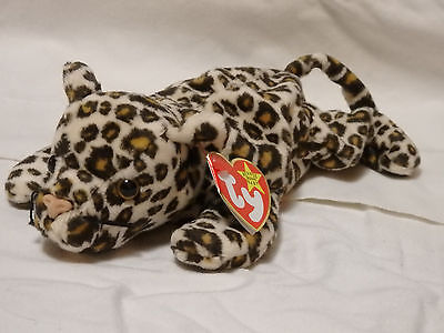 Beanie Babies-Original, Freckles The Leopard-Rare-retired