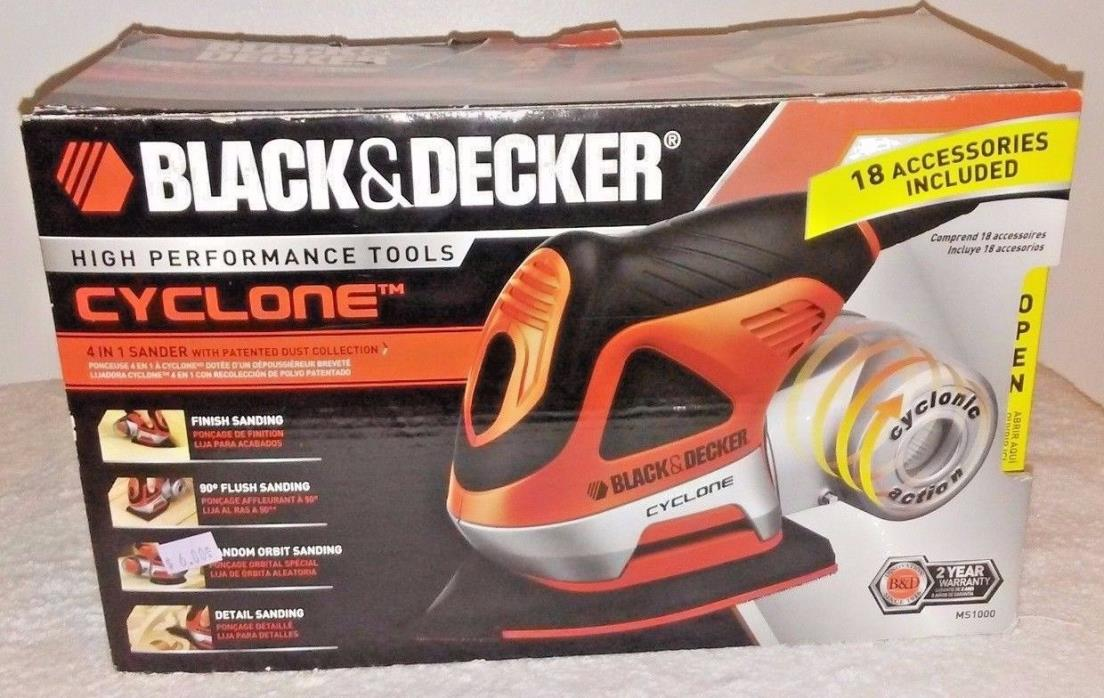 Black & Decker MS 1000 Cyclone woodworking tools Power Tools Sanders