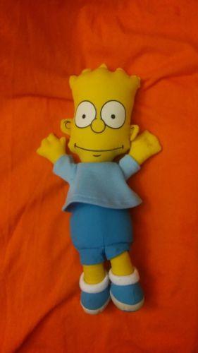 Bart Simpson Plush Doll 1990 The Simpsons