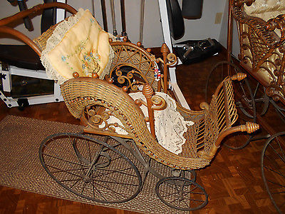 ANTIQUE BABY/DOLL BUGGY ... VERY NICE CONDITION ... LOOK!!