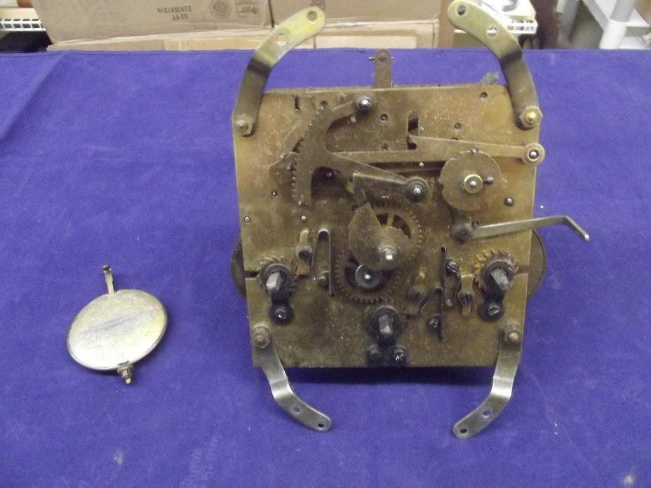 German Westminster Chime Mantel Clock Movement #452