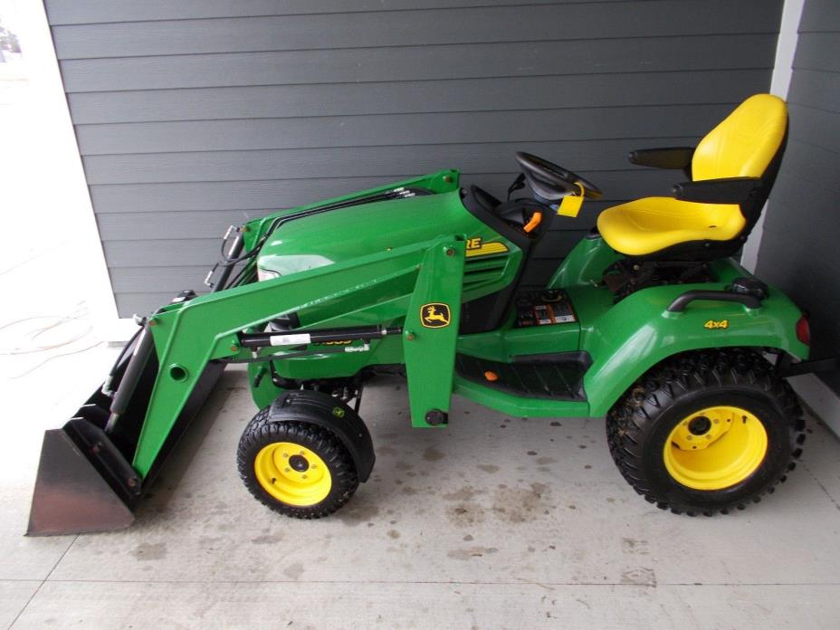 Used Garden Tractor Loaders : Tractor mower loader for sale classifieds