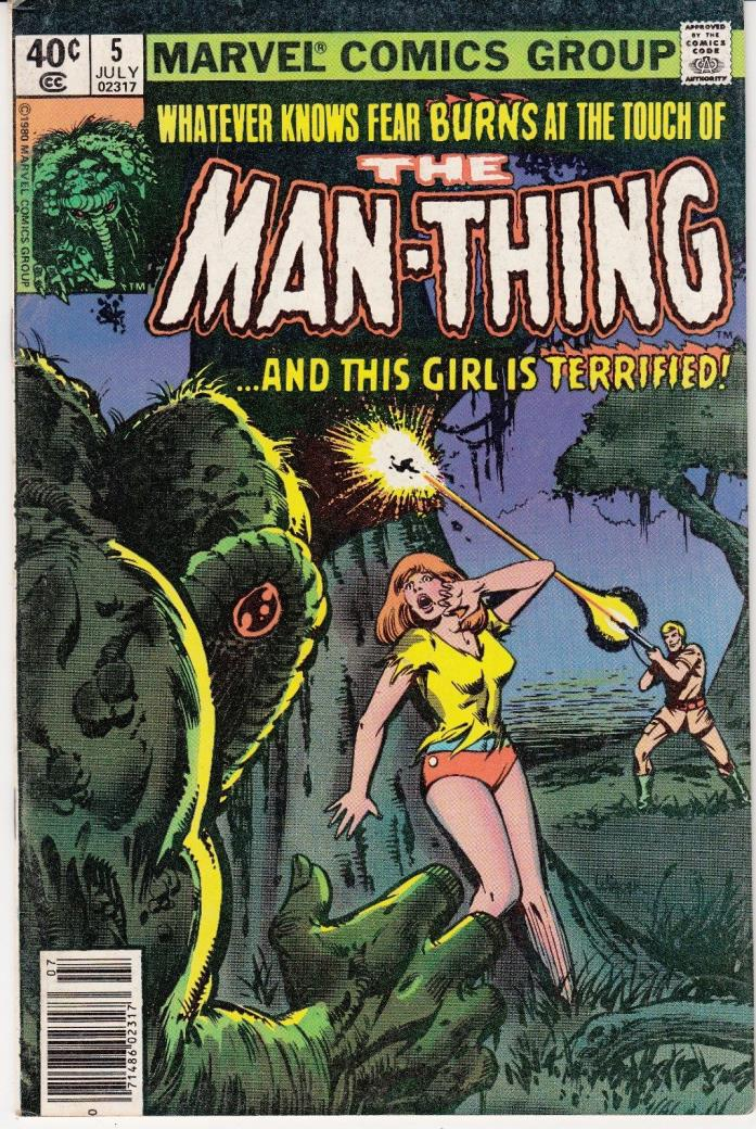 Man-Thing #5 (Marvel; July 1980)