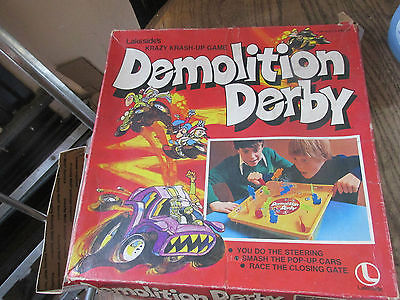Lakeside's Demolition derby game missing 2 pieces.