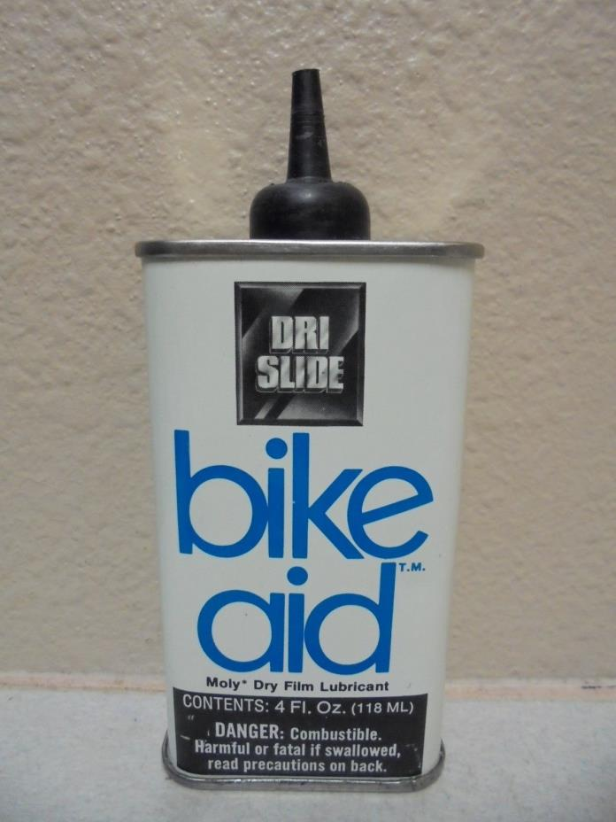 Vintage Bike Aid Dri Slide Bicycle Oiler Oil Can