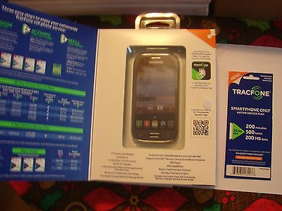 TRACFONE SAMSUNG GALAXY ACE STYLE SMARTPHONE W/ TRIPLE MINUTES,TEXTS,DATA