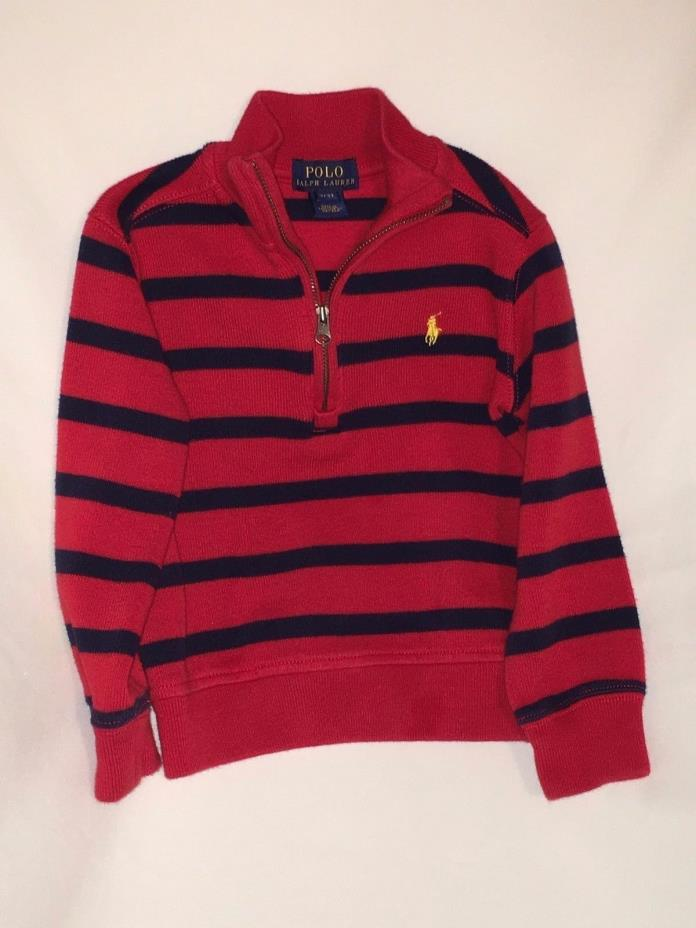 Polo Ralph Lauren Jacket and Sweaters Boys 3T Lot of 3 (Preowned)