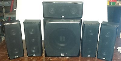 Theater Research TR-7010 Pair of Surround Speakers 300 watts