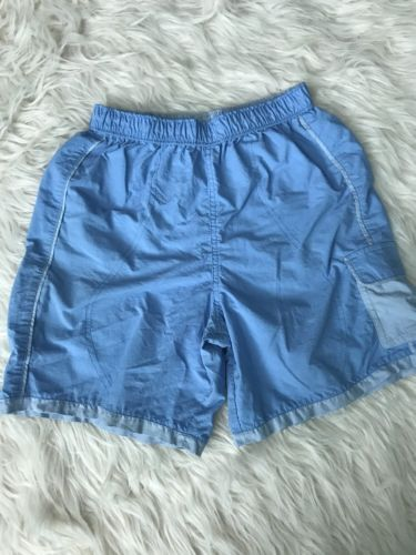 Columbia Youth Medium Athletic Shorts Jogging Gym Blue K07