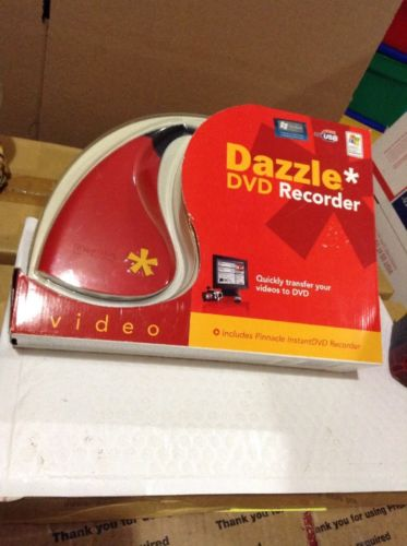 NEW NIB Pinnacle Systems Dazzle DVD Recorder (Old Version) InstantDVD Vintage