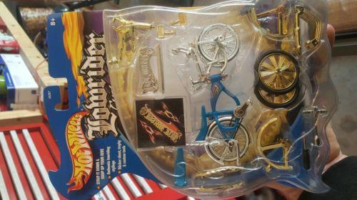 hot wheels lowrider bike