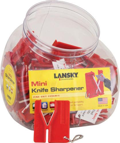 Lansky Mini Crock Stick Set Knife BKEY30 Includes 30 Mini Knife Sharpeners. 2 3/