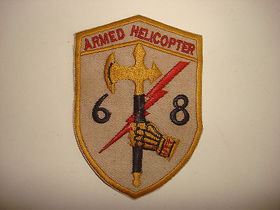 Vietnam War Patch US 68th Aviation (AHC) Armed Helicopter Company