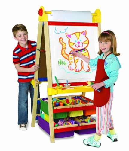 Easel For Kids Drawing Painting Preschool Child Teaching Art Portable Large