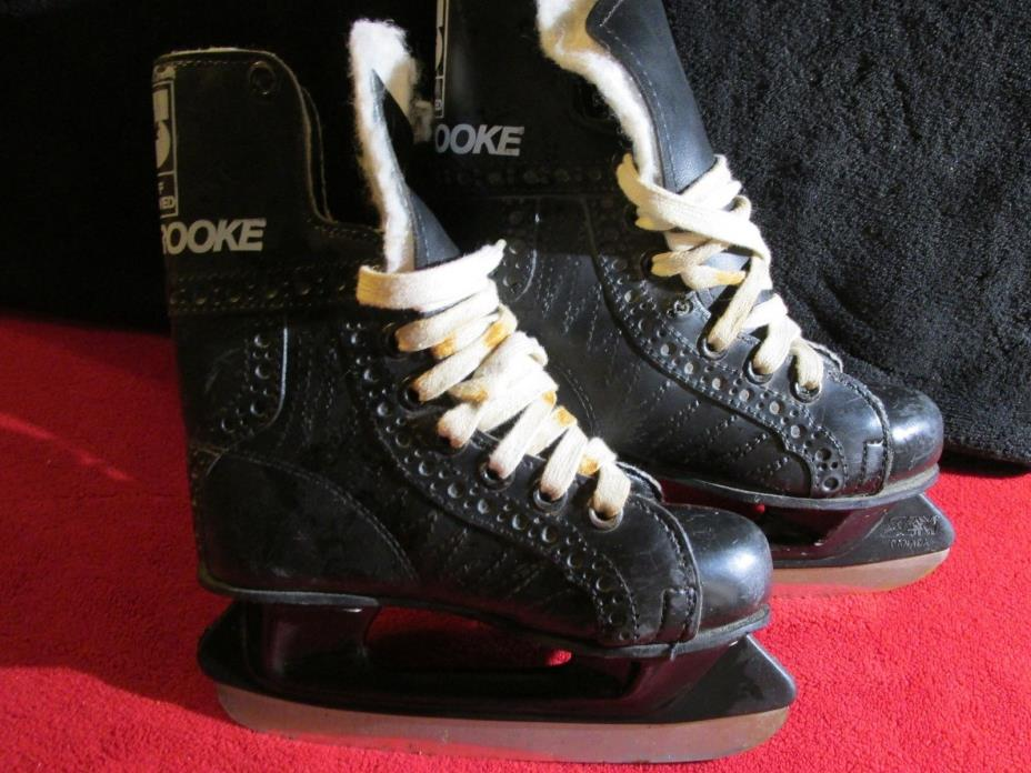 Kids Ice-hockey boots skates -  Sherbrook hockey Staff App-Size?? See Pictures