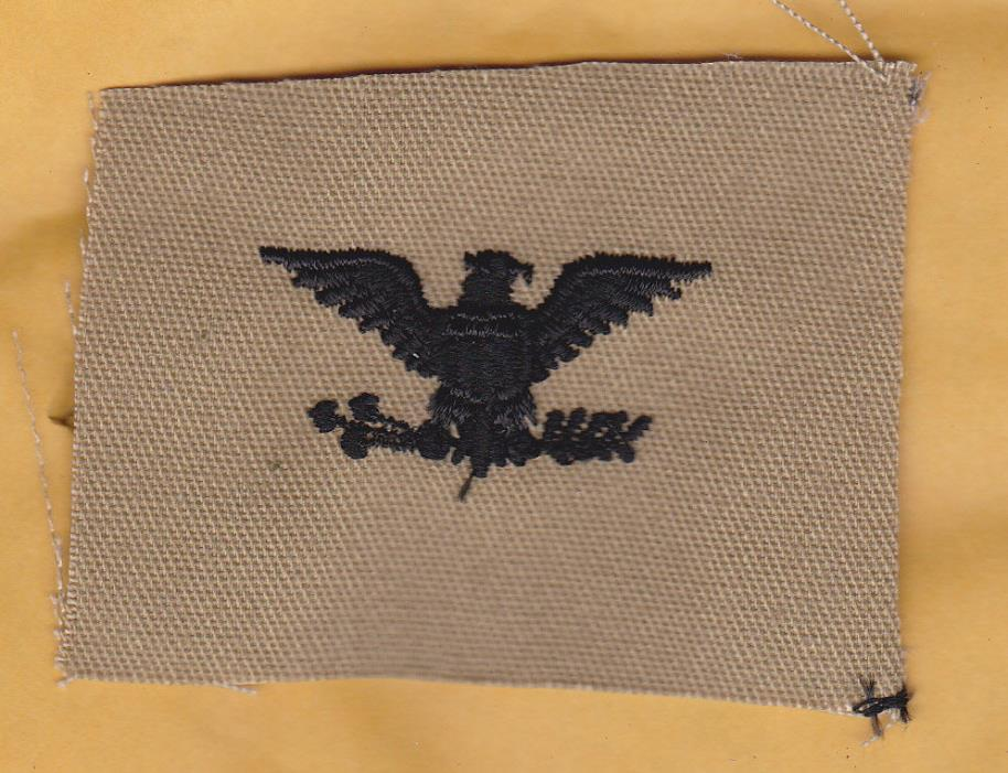 U.S. ARMY: Colonel