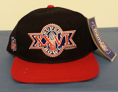 Vintage Super bowl XXVI wool snap back hat
