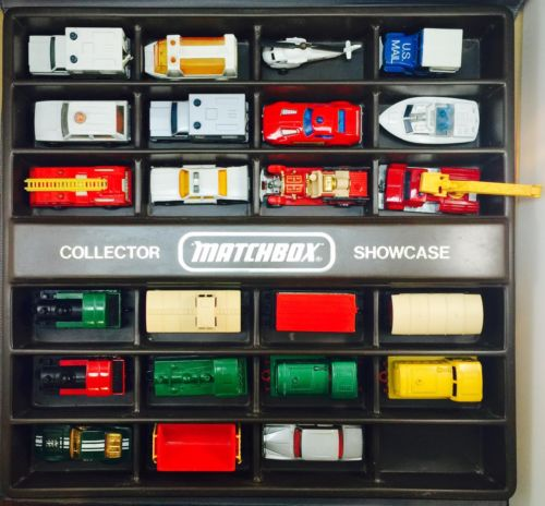 Vintage 70's & 80's Hot Wheels & Matchbox 23pc Toy Car Lot - AS-IS