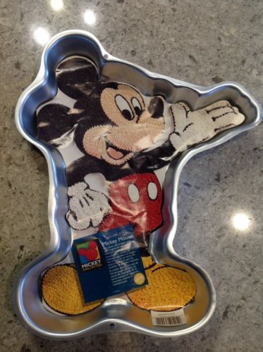 Mickey Mouse Wilton Cake Pan With Instructions Disney 1995