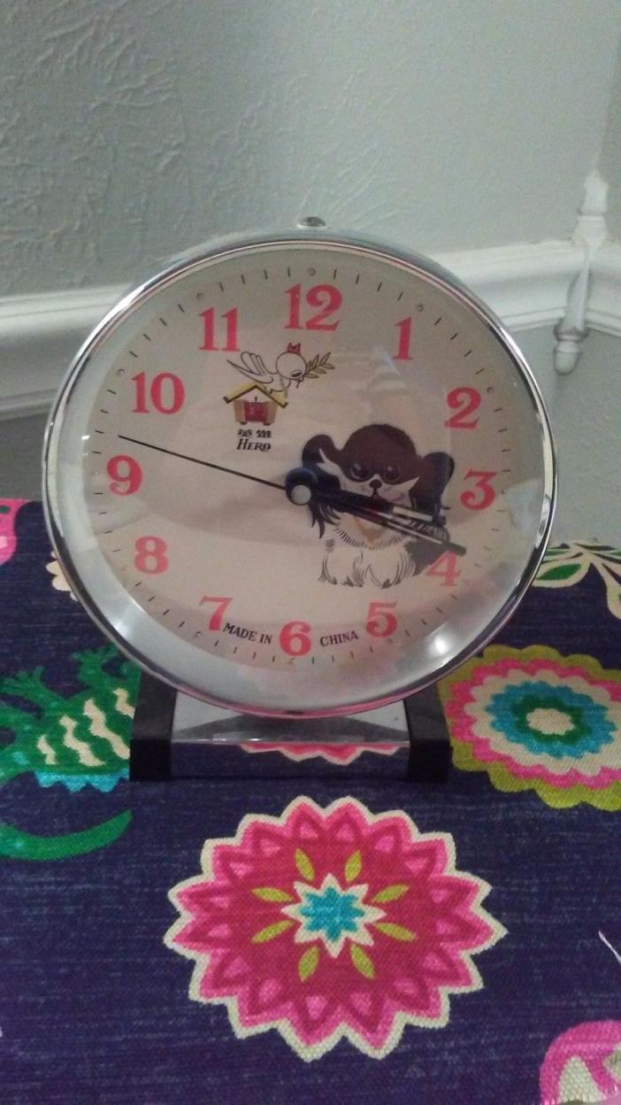 HERO alarm clock Dog Bird RARE