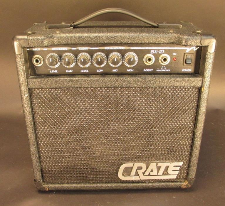 CRATE GX-10 Guitar Amplifier Amp