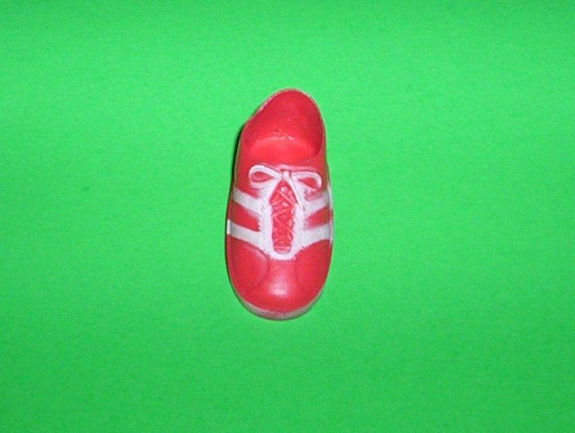 70's Kenner Six Millon Dollar Man Steve Austin Action Figure -1 SHOE Red Sneaker
