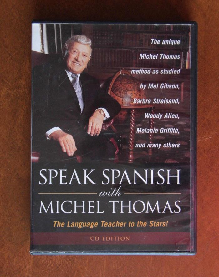 SPEAKING SPANISH WITH MICHEL THOMAS   -  2 CD SET