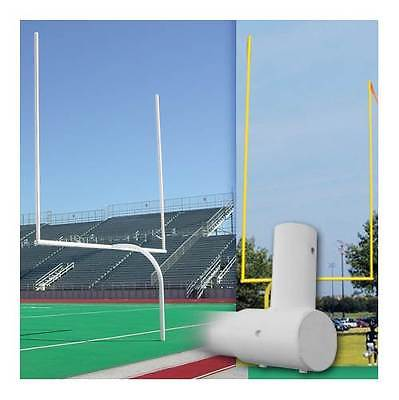 Official High School Gooseneck Goalpost with Flags [ID 5714]