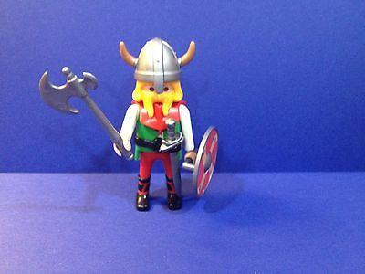 PLAYMOBIL VIKING 4599 Special, Different Shield ~ Norseman Warrior Horned Helmet